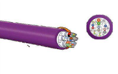 кабель магистральный (2x2x0.35  ) для робототехники