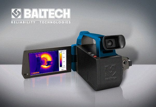 Новый тепловизор BALTECH TR-0170 (384Х288) с цифровой камерой и диапазоном –20°С … +350°С