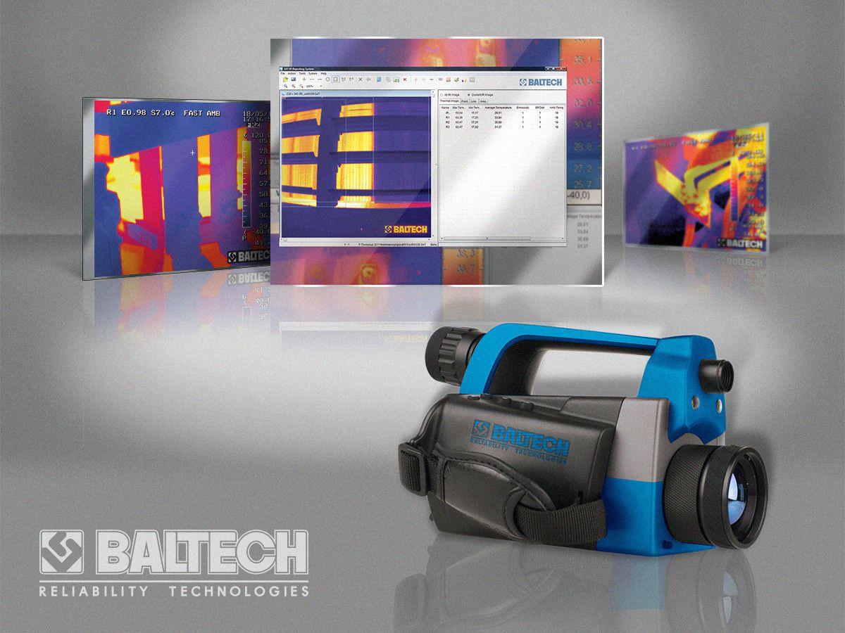 Новинка! Тепловизор BALTECH TR-0180 (640Х480) с цифровой камерой, с диапазоном –20°С … +350°С