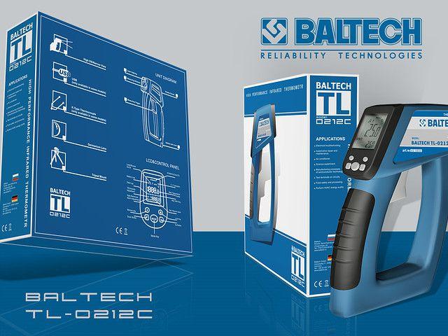 Пирометр - бесконтактный термометр BALTECH TL-0212C