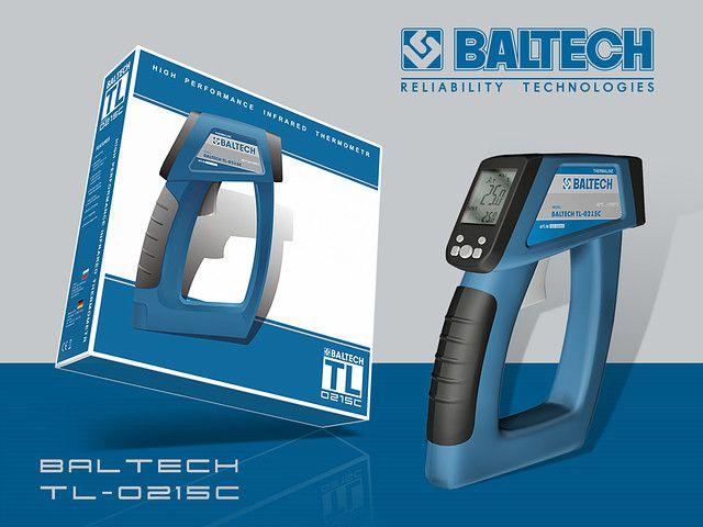 Бесконтактный пирометр BALTECH TL-0215C с диапазоном -50°С…+1500°С