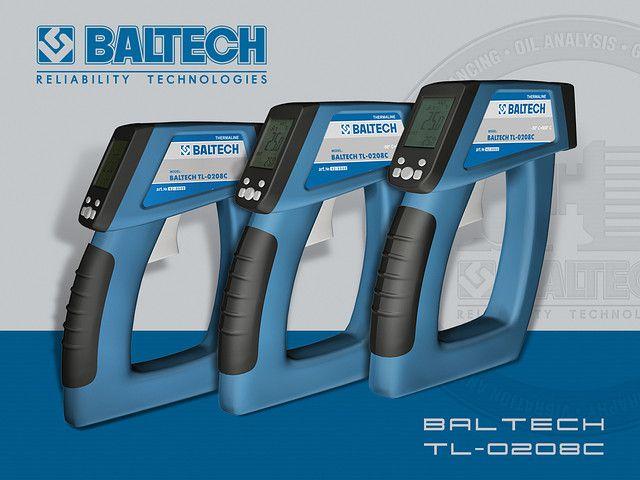 Пирометр BALTECH TL-0208С с диапазоном -50°С…+800°С