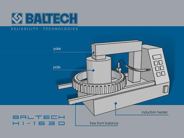 Нагреватель индукционный с тремя трансформаторными сердечниками - BALTECH HI-1633