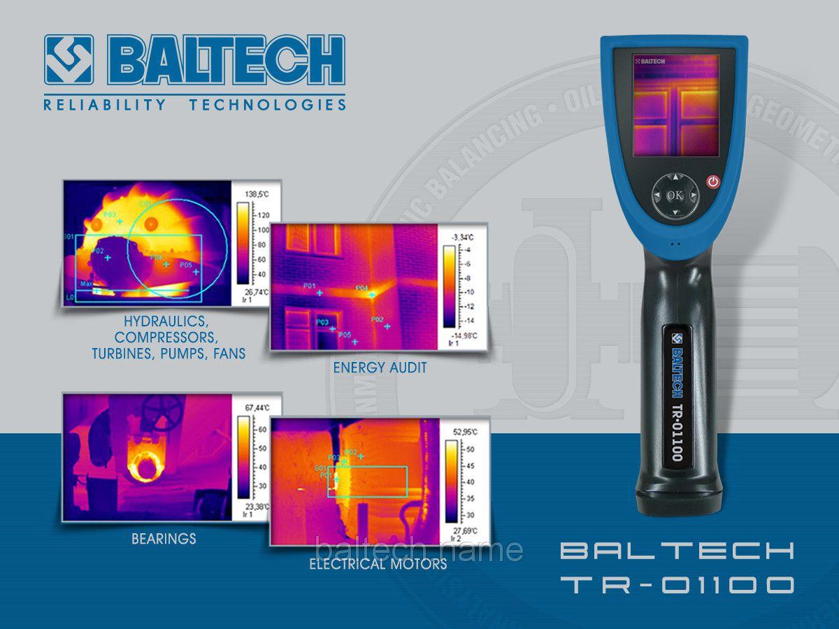 Тепловизор с диапазоном –20°С … +350°С BALTECH TR- 0110 (160Х120)