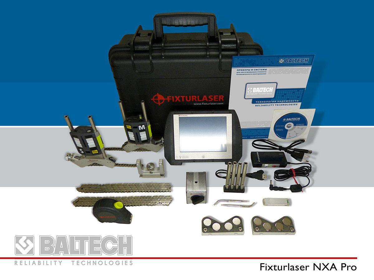 Система для центровки валов лазерная - Fixturlaser NXA Pro
