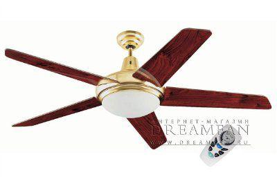 Люстра - вентилятор (потолочный вентилятор со светильником) Ovni Oro Viejo