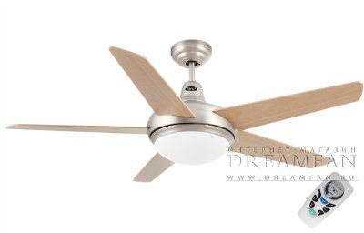 Люстра - вентилятор (потолочный вентилятор со светильником) Ovni Niquel