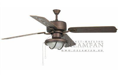 Люстра - вентилятор (потолочный вентилятор со светильником) Hierro Marron