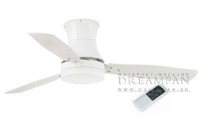 Люстра - вентилятор (потолочный вентилятор со светильником) Tonsay Blanco