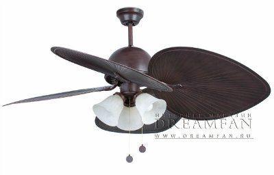 Люстра - вентилятор (потолочный вентилятор со светильником) Cuba
