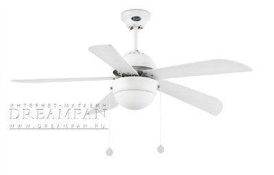 Люстра - вентилятор (потолочный вентилятор со светильником) Veneto Blanco