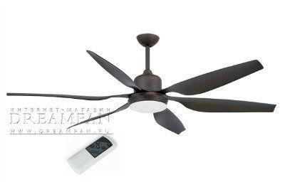 Люстра - вентилятор (потолочный вентилятор со светильником) Tilos