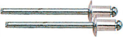 Заклепки вытяжные алюминиевые