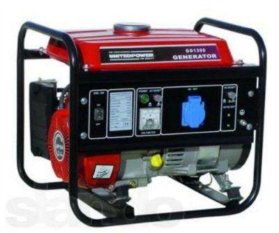 Генератор бензиновый DDE GG1300. однофазн.ном/макс. 0,9/1,1 кВт (UP154, т/бак 6л, ручн/ст, 28кг)