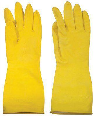 Перчатки латексные с внутренним х/б напылением, ТМ MOS