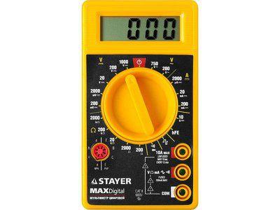 Мультиметр STAYER MASTER MAXDigital цифровой, артикул 45306