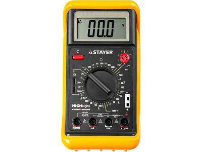 Мультиметр STAYER EXPERT HIGHDigital цифровой, артикул 45320-T