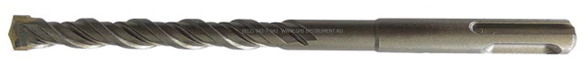 Бур по бетону CUTOP, Profi Plus - двойная спираль, три режущие кромки, 6x110 мм