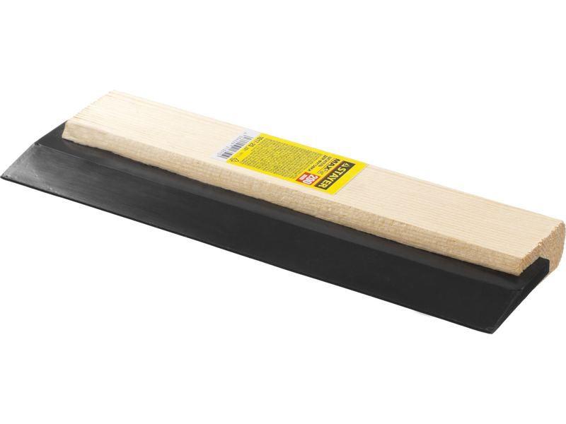 Шпатель резиновый STAYER MASTER для затирки, черный, 200мм, Артикул 1017-20_z01