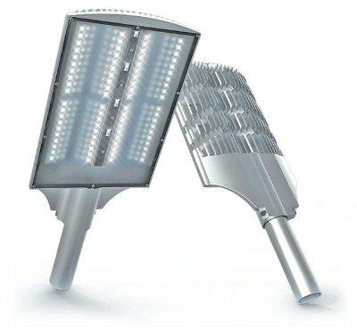 Уличный светильник LED BAT 100W (5000 К), 12150 Лм. 445x238x56 LuxON