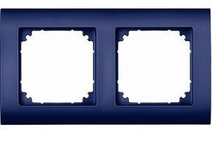EL-BI Zirve Рамка 2-м для Розетки синей 511-1212-215