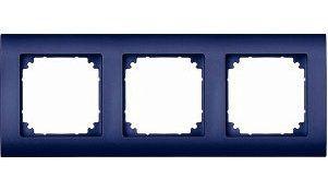 EL-BI Zirve Рамка 3-м для Розетки синей 511-1212-215