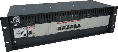 ПРП-3.060DC60 Панель распределения питания постоянного тока закрытого типа с амперметром для индикации тока нагрузки
