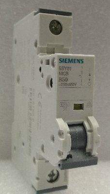 Siemens 5SY6 Автом. выкл. 1Р 25А (C) 6kA