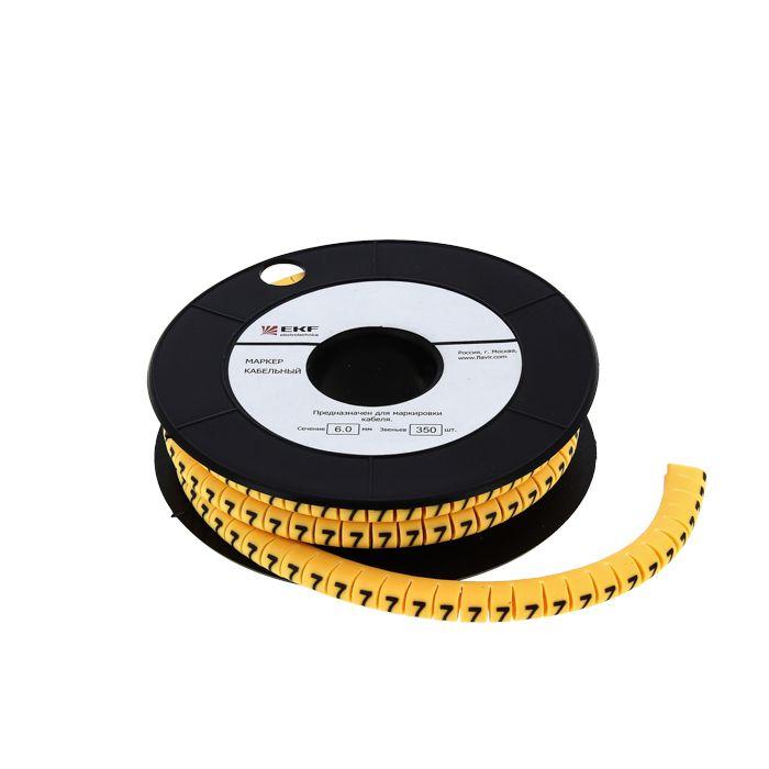 Маркер-кабельный 4,0кв.мм