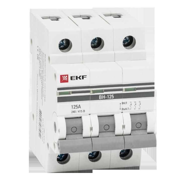 Выкл. нагрузки 3P 40А ВН-63 EKF