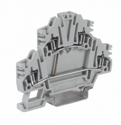 Клемма Cabur HMD.2N/CI/GR