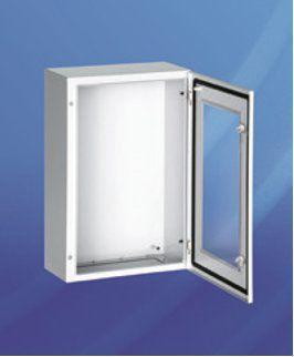 Шкаф компактный распределительный с обзорной дверью