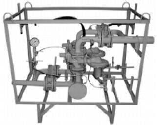 ГРУ-16-2Н-У1 Газорегуляторная установка