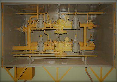 ГРПШ-16-2НУ1 Газорегуляторный пункт шкафной