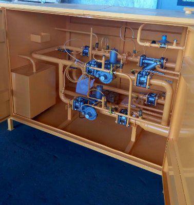 ГРПШ-04-2У1-ЭК Газорегуляторный шкафной пункт с измерительным комплексом