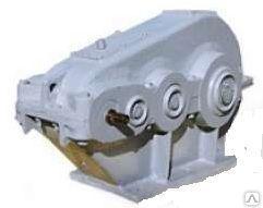 Редуктор ЦТНД-500 цилиндрический горизонтальный трёхступенчатый.