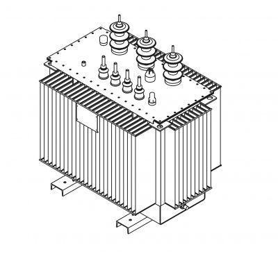 Трансформатор силовой масляный типа ТМГ-63/10(6)-У1  СТО 15352615-004-2008