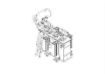 Трансформатор силовой масляный типа ТДНС-16000/20-У1, УХЛ1