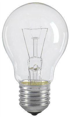 Лампа накаливания A55 шар прозр. 40Вт E27 IEK