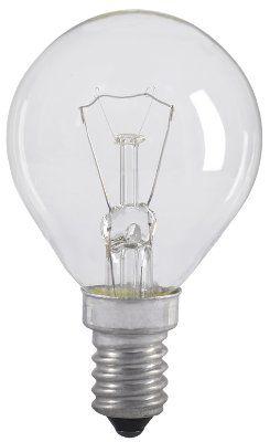 Лампа накаливания G45 шар прозр. 40Вт E14 IEK