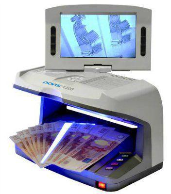 Детектор банкнот Dors 1300 с умным Антистоксом