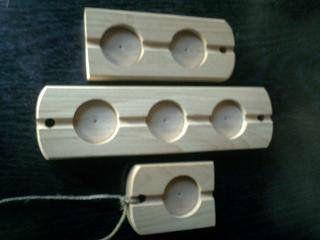 Плашка для опечатывания дверей и сейфов деревянная ГОСТ 31282-2004
