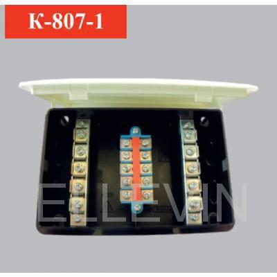 Коробка электро-распределительная с клеммами и крышкой
