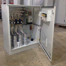 Тиристорные конденсаторные установки 0,4-0,69 кВ с фильтрами гармоник (антирезонансными дросселями)