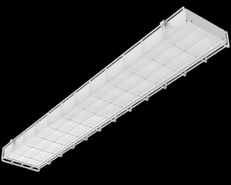 Накладной светильник SKE-NS-40-DW Призма с защитной решёткой