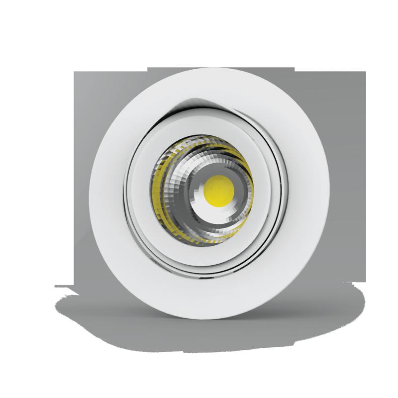 """Светильник LED """"ВАРТОН"""" DL/R встраиваемый поворотный 40° 165*125мм 30W 3000/4000K белый (⌀155mm)"""