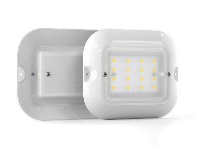 Светодиодный светильник для ЖКХ Mедуза 5ВТ 4000, 6500К 220В IP20 антивандальный