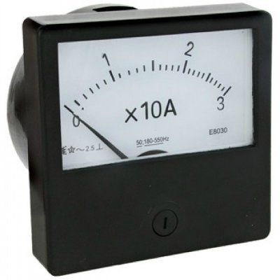Амперметр переменного тока Э-8030 (80х80мм)