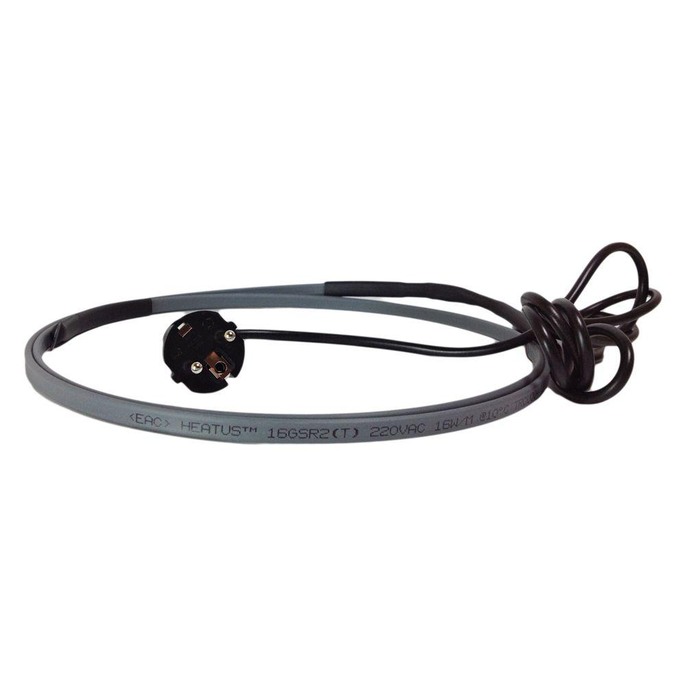 Комплект греющего кабеля без заземления Heatus AGW-16 864 Вт 54 м