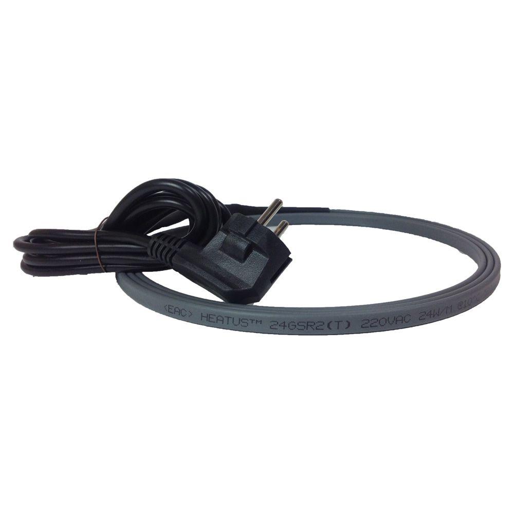 Комплект греющего кабеля для канализации Heatus AGW-24 1872 Вт 78 м